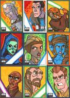 Topps Star Wars Galaxy 6 - 02 by JoeHoganArt