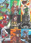 Sketch Book Cards - 04 by JoeHoganArt