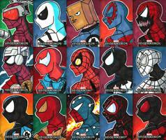 Upper Deck - Marvel Beginnings III - 01 by JoeHoganArt