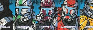 Topps SWGF Series 2 - 01 - Commandos by JoeHoganArt