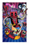 Deadpool Time - Collaboration With Mike Vasquez by JoeHoganArt