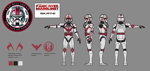 POM Character Key - Skate by JoeHoganArt