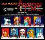 Cryptozoic - Adventure Time Season 1 - 4 For Sale! by JoeHoganArt