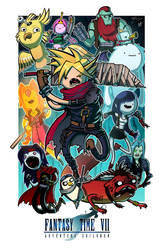Fantasy Time VII - Collab w/ Mike Vasquez by JoeHoganArt