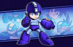 NYCC Print - Legacy - Mega Man by JoeHoganArt