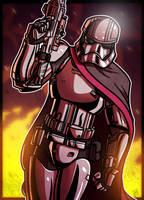 6 of 9 - Captain Phasma by JoeHoganArt