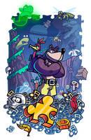 Epic Game Print - Banjo-Kazooie by JoeHoganArt