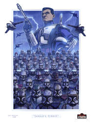 Jango's Finest -- Celebration Orlando Print by JoeHoganArt