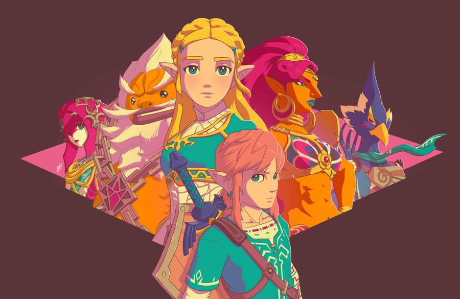 Zelda - Breath of the Wild by JoeHoganArt