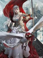Applibot- White Queen-adv by oxan-art