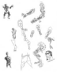 Work Doodles by Agnurlin