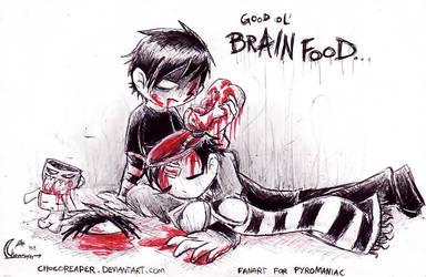 He's BRAIN FOOD by Chocoreaper