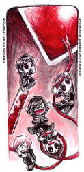 In Black And Blood MCR by Chocoreaper