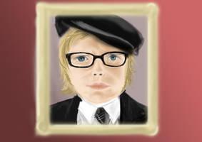 P.Stump portrait closeup by Chocoreaper