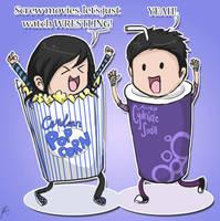 Wrestlemaniac Popcorn n Soda by Chocoreaper