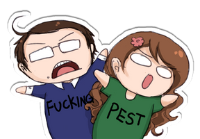 APH: Fucking Pest by Chocoreaper