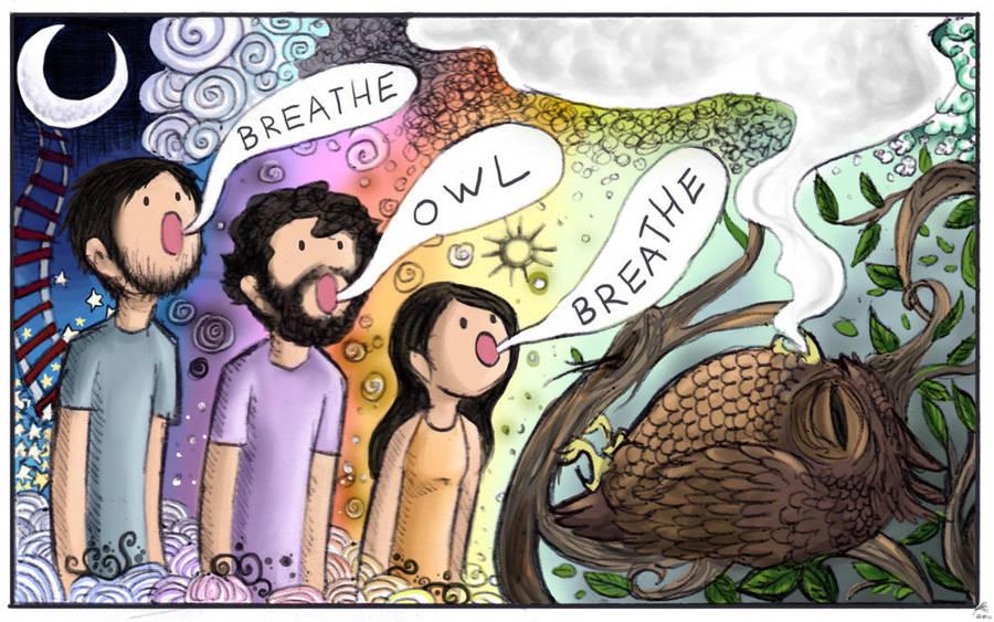 Breathe, Owl, Breathe. by Chocoreaper