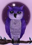 .:Purple Owl:. by Chocoreaper