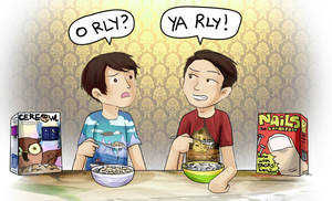Breakfast Conversation by Chocoreaper