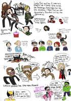 more avengers doodledump by Chocoreaper