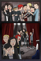 Hugging them a farewell - MCR+FOB by Chocoreaper