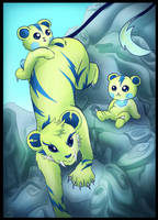 Rock Climbing with the Teddycubs by Chocoreaper