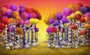 Not-so-Truffula Trees by Chocoreaper