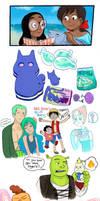 Steven Universe artdump by Chocoreaper