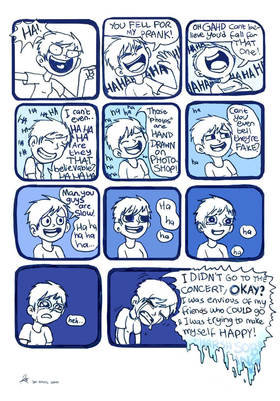 Every prank has a sad story by Chocoreaper