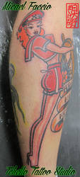 Saylor Jerry Girl by micaeltattoo