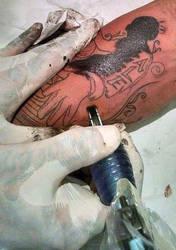 DJ tattoo 15mg by micaeltattoo