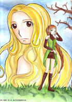 Terra - watercolor by mia-asai