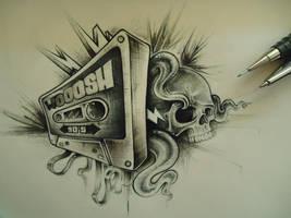 wooosh cassette by SneezingJellyfish