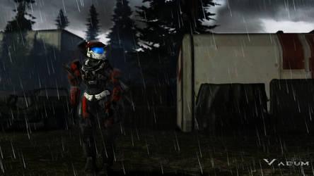 Rainy, rainy, Spartan. by Sigi09