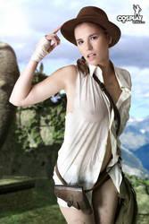 More Cassie-Indy-Jones by cosplayerotica