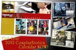 CosplayErotica 2012 Calendar by cosplayerotica