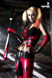 Beware of Harley Quinn by cosplayerotica