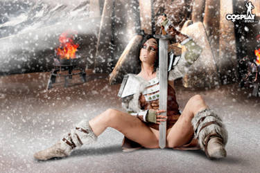 Skyrim cosplay by cosplayerotica