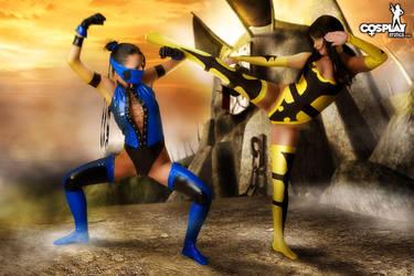 Mortal Kombat goddesses part 1 by cosplayerotica