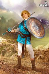 Look at my shield! Yeah, it's crap def+1:))) by cosplayerotica