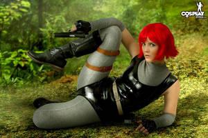 Dino Crysis Sexy version by cosplayerotica