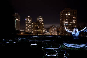 Plasma Ant Trail by Coltography