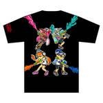 Splatoon T-Shirt Back by Kyan-Uto
