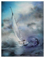 I am sailing by janipabel