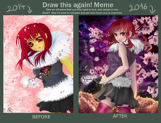 Meme- The difference between two years... by Sully-Evilyan
