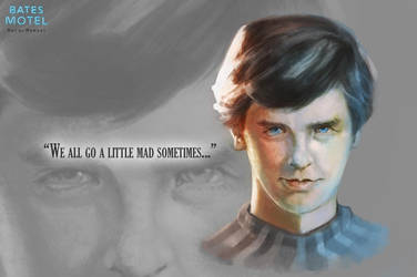 -Norman Bates- by Sully-Evilyan
