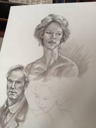 Parade's End Sketches by starkanime