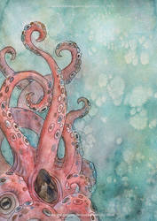 Kraken Illustration by starkanime