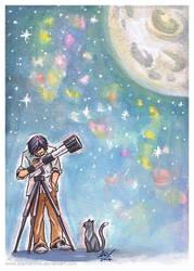 Stargazing by starkanime
