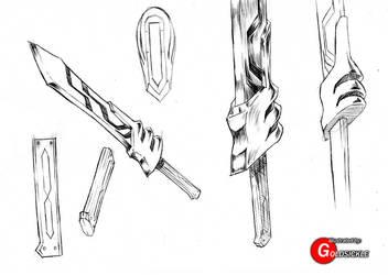 Sword Design by Goldsickle
